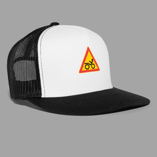 Traffic sign Recumbent - Trucker Cap