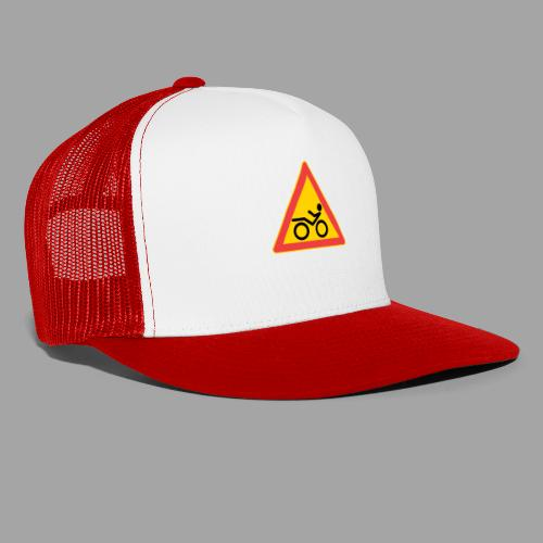 Traffic sign Recumbent - Trucker Cap