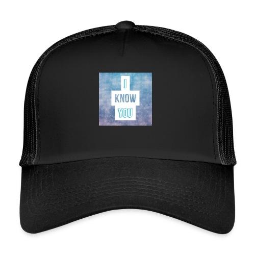 I_Know_You Logo - Trucker Cap