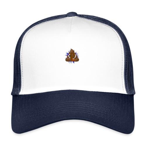 p0op Logo - Trucker Cap
