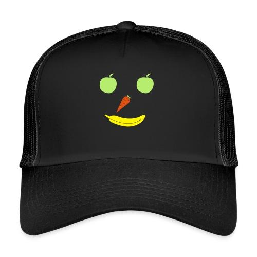 Obst Gemüse Smiley - Trucker Cap