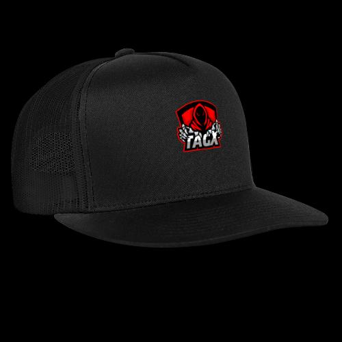 TagX Logo with red borders - Trucker Cap