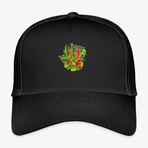 Kwiatowe love - Trucker Cap