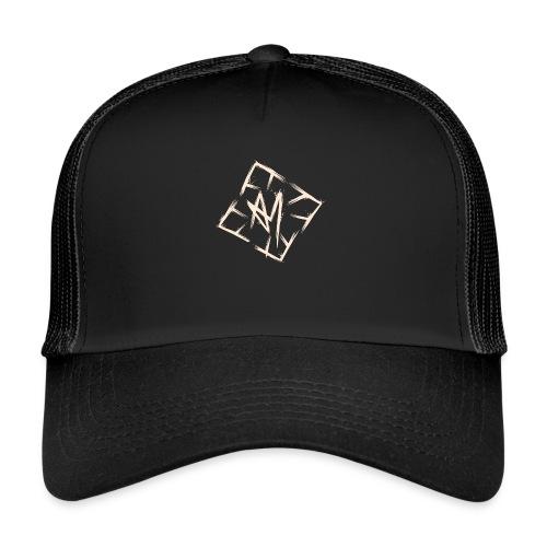 Across Yourself - Logo white transparent - Trucker Cap