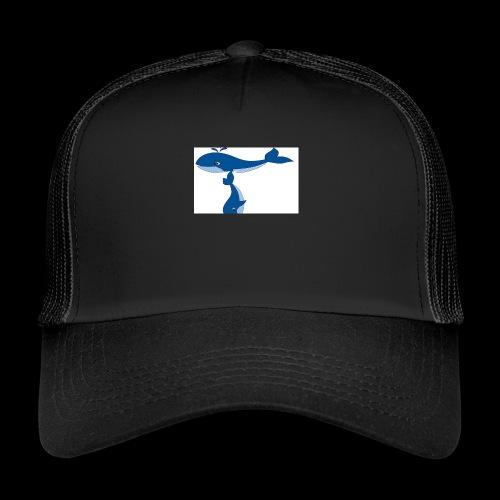 whale t - Trucker Cap