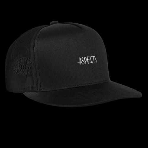 ASPECTS Black - Trucker Cap