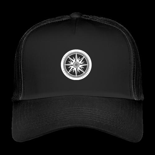 Hellrose White - Trucker Cap