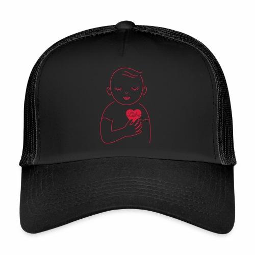 Liebe im Herzen - Trucker Cap