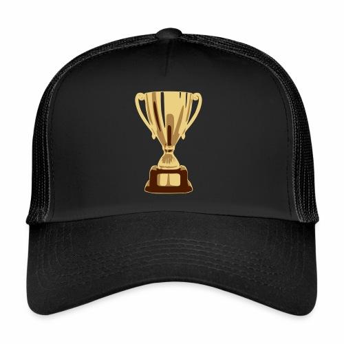 pokal vectorized - Trucker Cap