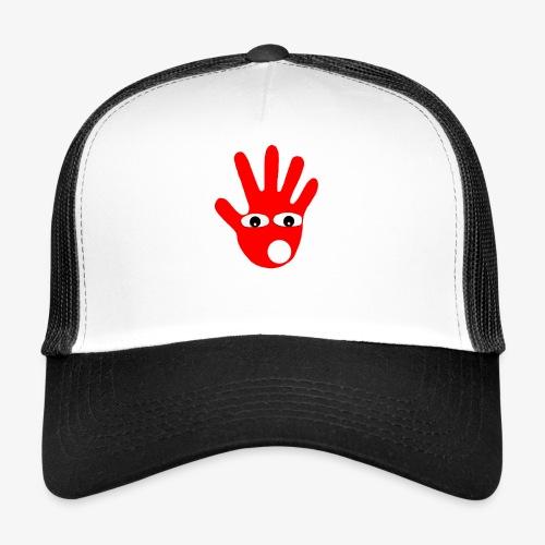 Hände mit Augen - Trucker Cap