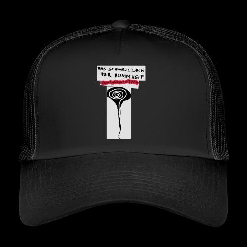 schwarzes lochohne signatur - Trucker Cap
