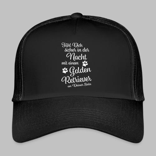 Fühl Dich sicher in der Nacht - Golden Retriever - Trucker Cap