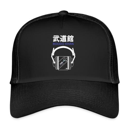 Boodo Khan walkman with headhones & Title - Trucker Cap