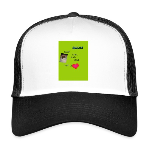 Keep call and love turtle - Trucker Cap