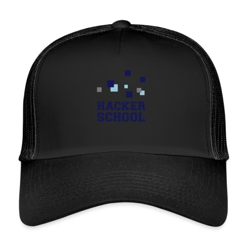 Hacker School Logo mit Pixeln - Trucker Cap
