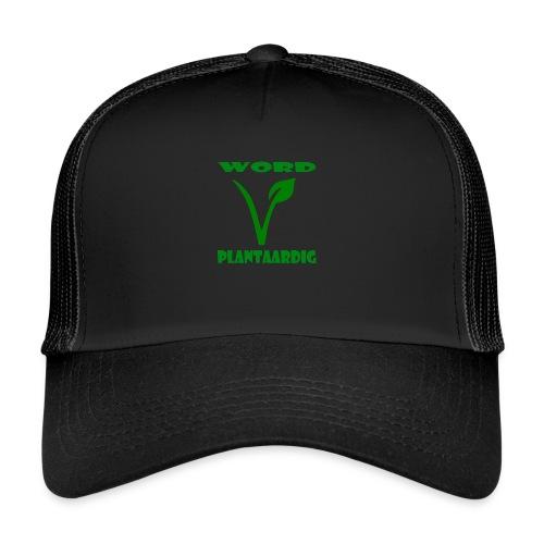 word plantaardig - Trucker Cap