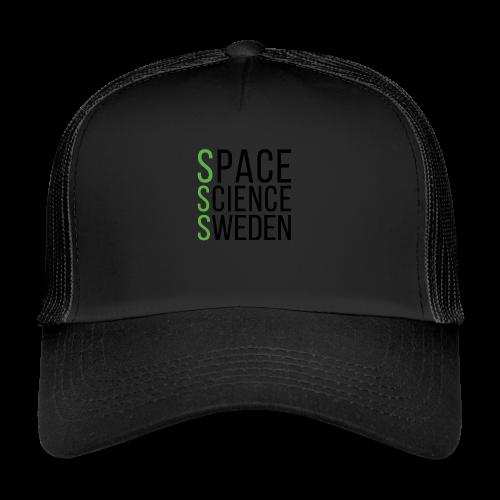 Space Science Sweden - svart - Trucker Cap