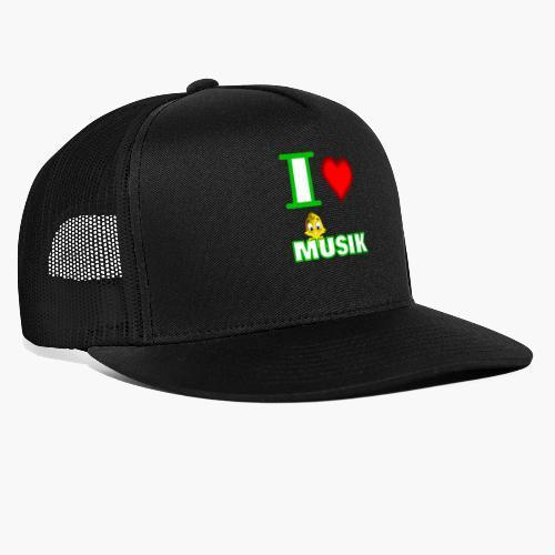 Ich liebe Musik - Trucker Cap