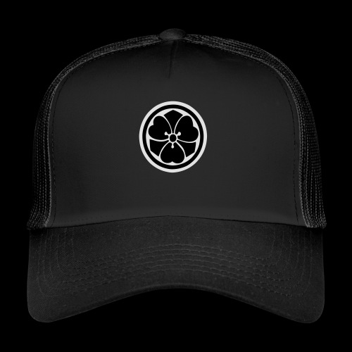 iaido_symbol_2_farbig - Trucker Cap