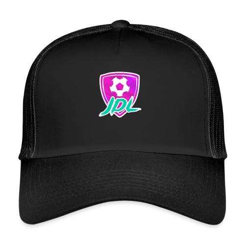 Logotipo del canal de JDL - Gorra de camionero