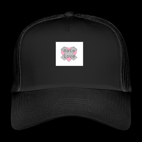 Hate love - Gorra de camionero