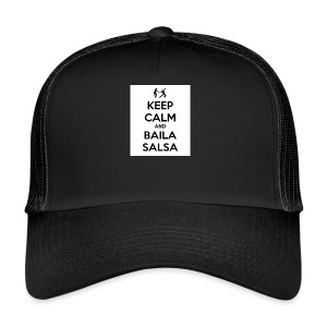 keep-calm-and-baila-salsa-41 - Trucker Cap