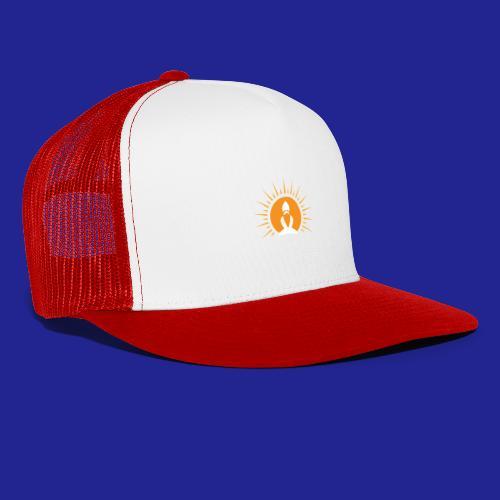 Guramylyfe logo white no text - Trucker Cap