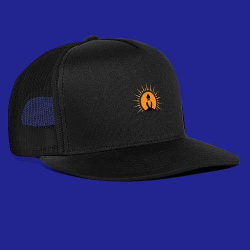 Guramylife logo black - Trucker Cap