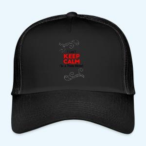 I Can't Keep Calm (voor lichte stof) - Trucker Cap