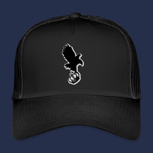 large eagle logo - Trucker Cap