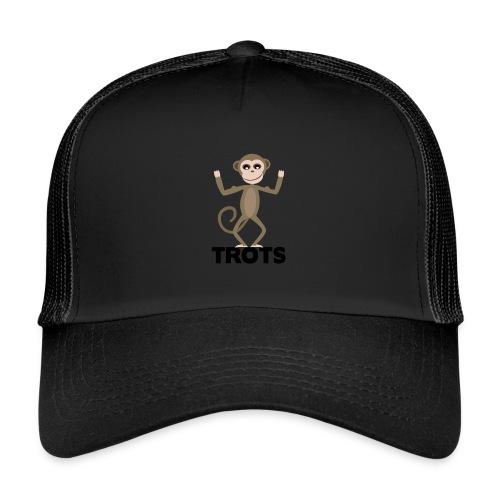 apetrots aapje wat trots is - Trucker Cap