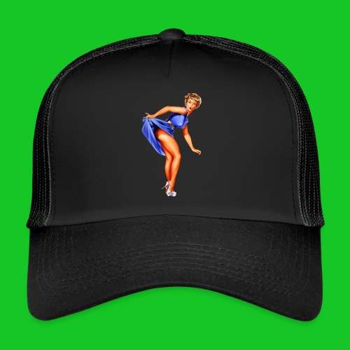 pin up girl 2 - Trucker Cap