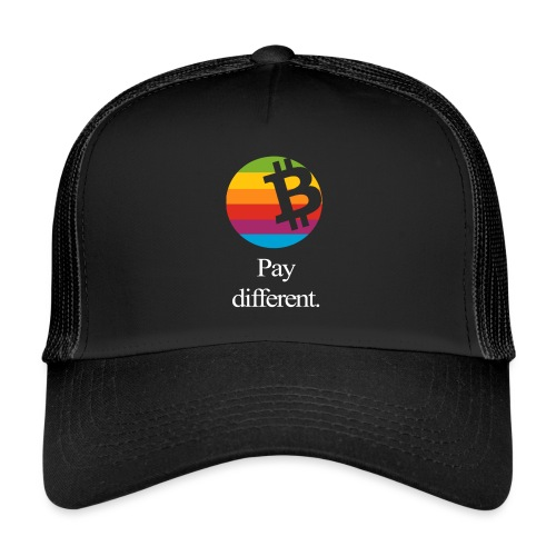 pay different 170214205512 white png - Trucker Cap