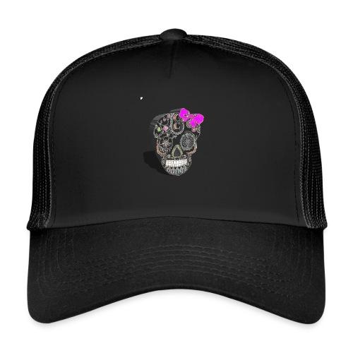 Tête de mort mexicaine 3D - Trucker Cap