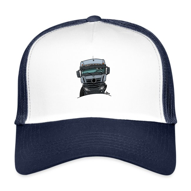 0807 M Truck grijs
