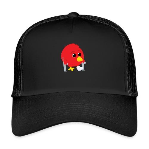 Oiseau rouge blessé - Trucker Cap