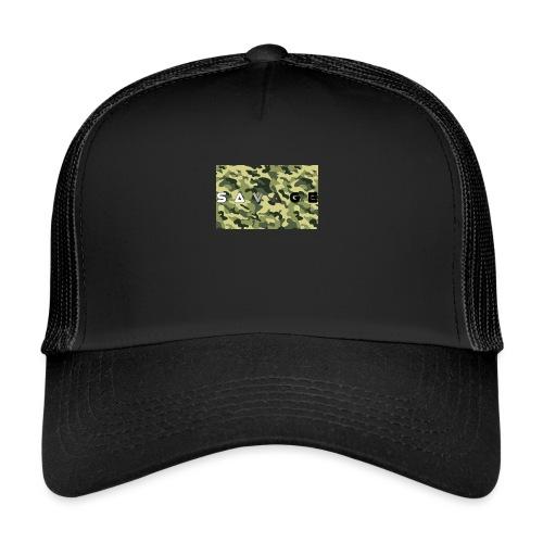 savage camo premium - Trucker Cap