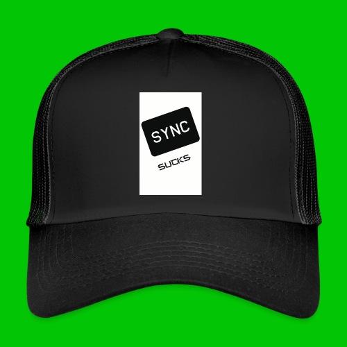 t-shirt-DIETRO_SYNK_SUCKS-jpg - Trucker Cap