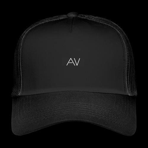 AV White - Trucker Cap