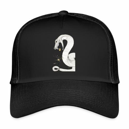 Poison - Combat contre un serpent venimeux géant - Trucker Cap