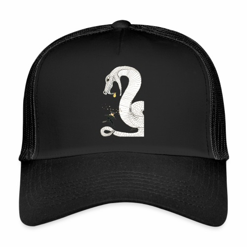 Poison - Fight against a giant poisonous snake - Trucker Cap