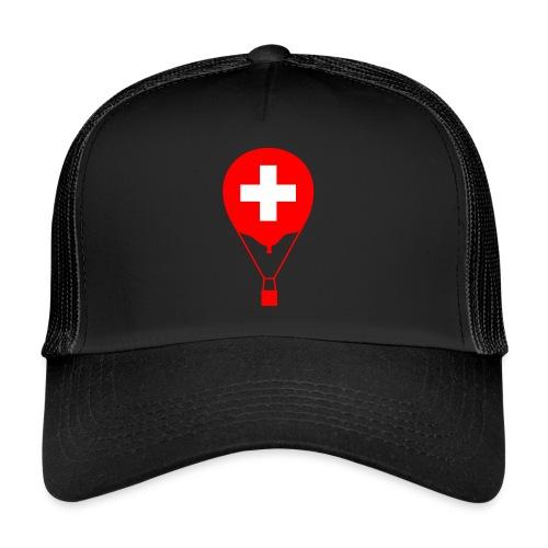 Gasballon im schweizer Design - Trucker Cap