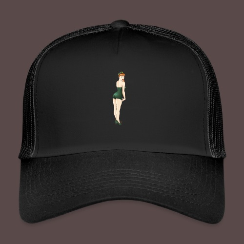 Pin-up Army, Yes Sir? - Trucker Cap