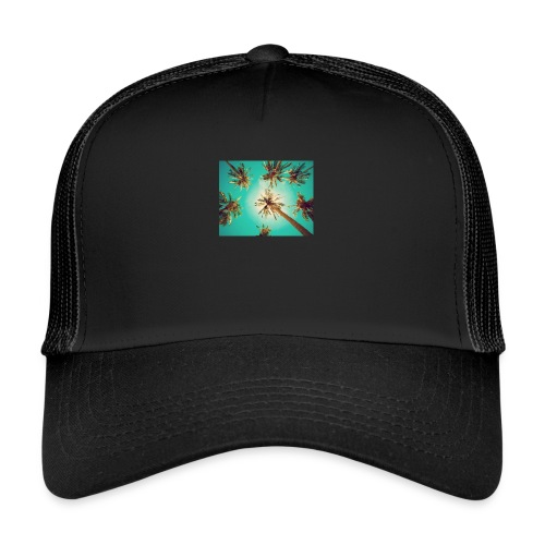 palm pinterest jpg - Trucker Cap