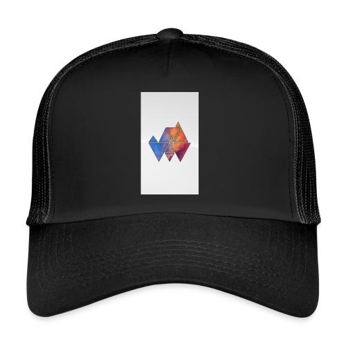 Colourful_Triangles - Trucker Cap