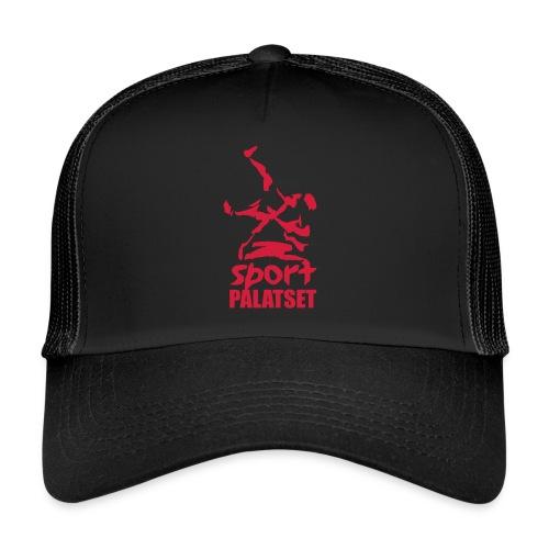 Motiv med röd logga - Trucker Cap