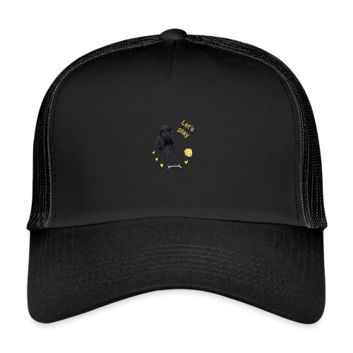 Giant Schnauzer puppy - Trucker Cap