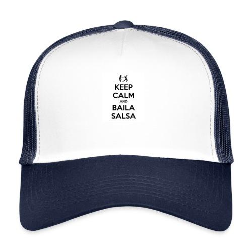 keep-calm-and-baila-salsa-41 - Trucker Cap