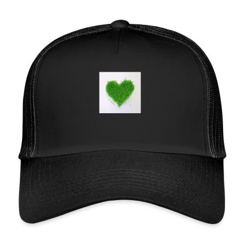 Herzrasen Button - Trucker Cap