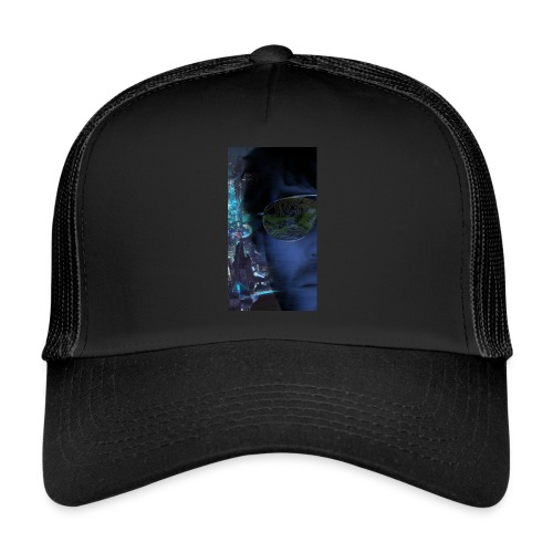 Cyberpunk - Fly verkligheten med en T-shirt - Trucker Cap